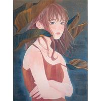 吉森百子 原画「またの日まで」