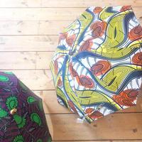 アフリカンバティック日傘