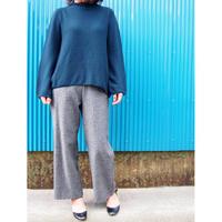 【日本製】ガーター編バルーンプルオーバー ( Whole Garment Knit )