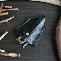 ベル型キーケース ※イタリアンレザーCORFU(コルフ) 革色ディープグリーン