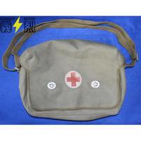 【軍用実物】中国人民解放軍65式医療バック 中国軍衛生兵