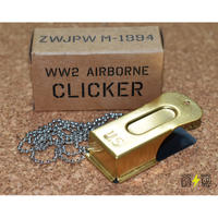 【複製品】WW2米軍クリケットシグナルクリッカー アメリカ軍101空挺部隊