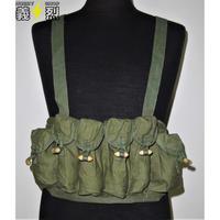 【実物】中国人民解放軍79式携行具79式サブマシンガン用マガジンポーチ