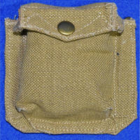 (複製品)WW2イギリス軍P37装備拳銃弾用予備ポーチ