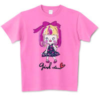 girlちゃんTシャツ(おしゃれgirlちゃん)