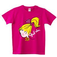 girlちゃんTシャツ(ポニーテール)