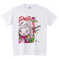 girlちゃんTシャツ(キモノガール)