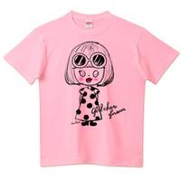 girlちゃんTシャツ(おしゃれサングラス)
