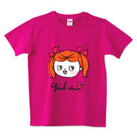 girlちゃんTシャツ(ツインテールちゃん)