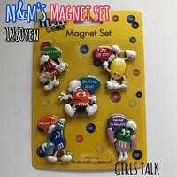 m&m's Magnet set