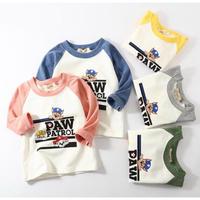 Animal  ラグラン ロングTシャツ