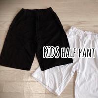 KIDS  HALF  PANT