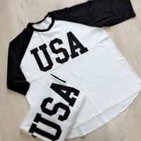USAラグランTシャツ