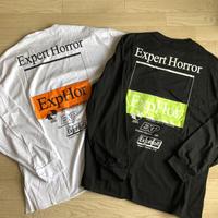 ExpHor ロングTシャツ