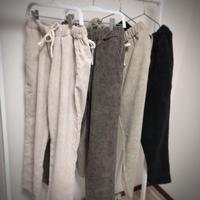 corduroy string pants