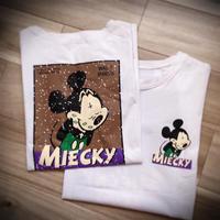 KIDS  Mickey風ワンピース