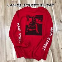 STREET BACK PRINT SWEAT