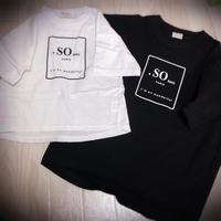 KIDS  SO basic T shirt