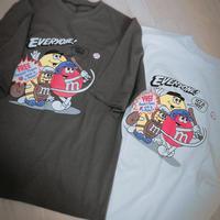ladies  m&m's  T-shirt