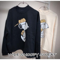 WIDE SNOOPY SWEAT