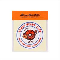 DONUT HEART CLUB / sticker (2299991062982)