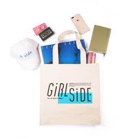 Girlside ki_moi ロゴトートバッグ (4988044877504)