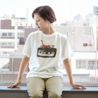 Girlside Aki Ishibashi Tシャツ ロゴ大