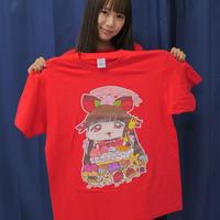 宮内桃子 生誕祭記念Tシャツ(赤)Lサイズ