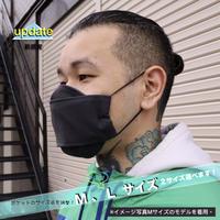 3層立体布マスク(ポケット付き)-チャコール