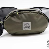 Oval Waist Pouch-Snake Olive
