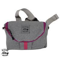 Mailer waist pack-Knit GY/PK