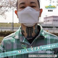 3層立体布マスク(ポケット付き)フェザーグレー