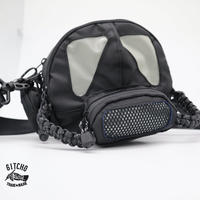 Gas mask bag-BK
