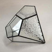ダイヤ形テラリウム(L クリアー)