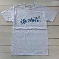 LOGO  S/S Tee『SBA CHAPTER1』/blue ×  light blue