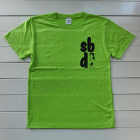 サーフィンするときのTee『SBA CHAPTER1』/LIME or AQUA BLUE