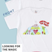 LOOKING FOR THE MAGIC イラストTシャツ