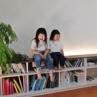 ロゴTシャツ【ホワイト×ブラック】