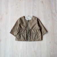 リバーシブルナイロンジャケット【カーキ】