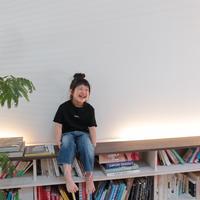 ロゴTシャツ【ブラック×ホワイト】