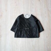 リバーシブルナイロンジャケット【ブラック】
