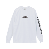 THXGOD(Thanks God)LongTee-White