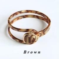 【Brown marble】バングル