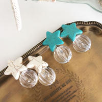【Turquoise star】ピアス&イヤリング
