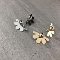 【Half flower】ピアス&イヤリング