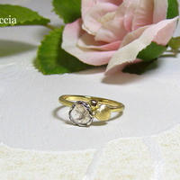 スライスダイヤモンドの指輪(9.5号のみ)