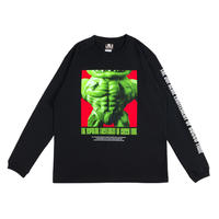 【予約販売】【国内限定配送】KUSAIKUSOPS PHOT LONG SLEEVE / BLACK