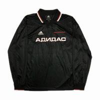 Gosha Rubchinskiy adidas Football L/S Shirt Black S 18SS 【中古】