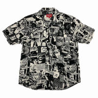 Supreme Vibrations Rayon Shirt White S 18SS 【中古】