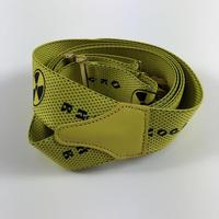 Gosha Rubchinskiy Printed Suspenders Yellow 18SS 【中古】